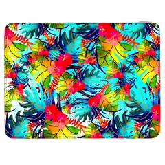 Watercolor Tropical Leaves Pattern Samsung Galaxy Tab 7  P1000 Flip Case
