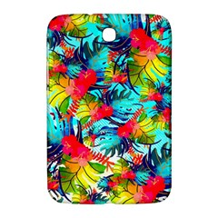 Watercolor Tropical Leaves Pattern Samsung Galaxy Note 8.0 N5100 Hardshell Case