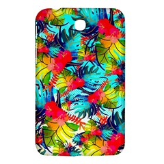 Watercolor Tropical Leaves Pattern Samsung Galaxy Tab 3 (7 ) P3200 Hardshell Case