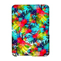 Watercolor Tropical Leaves Pattern Amazon Kindle Fire (2012) Hardshell Case