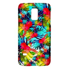Watercolor Tropical Leaves Pattern Galaxy S5 Mini