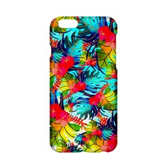 Watercolor Tropical Leaves Pattern Apple iPhone 6/6S Hardshell Case