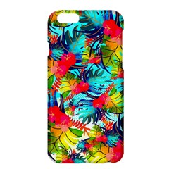 Watercolor Tropical Leaves Pattern Apple iPhone 6 Plus/6S Plus Hardshell Case