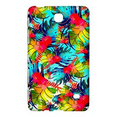 Watercolor Tropical Leaves Pattern Samsung Galaxy Tab 4 (7 ) Hardshell Case