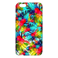 Watercolor Tropical Leaves Pattern iPhone 6 Plus/6S Plus TPU Case