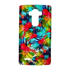 Watercolor Tropical Leaves Pattern Lg G4 Hardshell Case