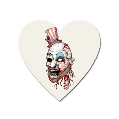Captain Zombie Heart Magnet