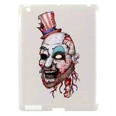 Captain Zombie Apple iPad 3/4 Hardshell Case (Compatible with Smart Cover)