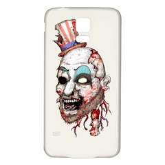 Captain Zombie Samsung Galaxy S5 Back Case (white)