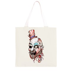 Captain Zombie Grocery Light Tote Bag