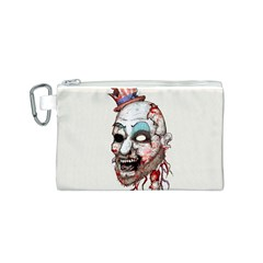 Captain Zombie Canvas Cosmetic Bag (S)