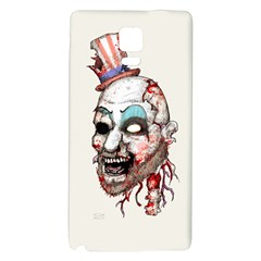 Captain Zombie Galaxy Note 4 Back Case