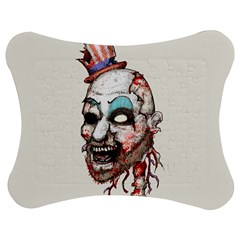 Captain Zombie Jigsaw Puzzle Photo Stand (bow)