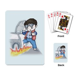 Back To The Plushie Future Playing Card