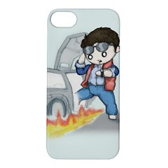 Back To The Plushie Future Apple iPhone 5S/ SE Hardshell Case