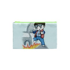 Back To The Plushie Future Cosmetic Bag (XS)