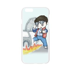 Back To The Plushie Future Apple Seamless iPhone 6/6S Case (Transparent)