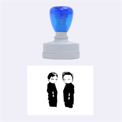 Plushie Saints 2.0 Rubber Oval Stamps