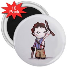 Plushie Boomstick 3  Magnets (10 pack)