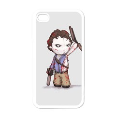 Plushie Boomstick Apple iPhone 4 Case (White)