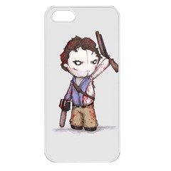 Plushie Boomstick Apple iPhone 5 Seamless Case (White)