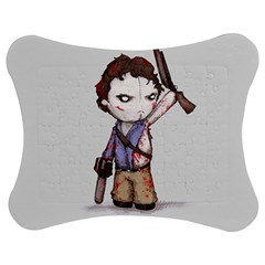 Plushie Boomstick Jigsaw Puzzle Photo Stand (Bow)