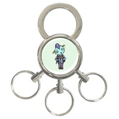 Maurice 3-Ring Key Chains