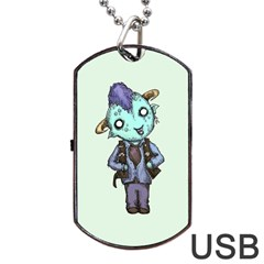 Maurice Dog Tag USB Flash (Two Sides)