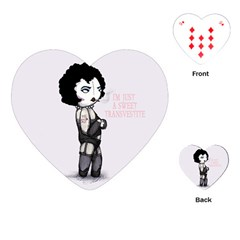 Rocky Horror Plush  Playing Cards (Heart)