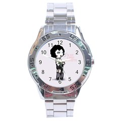 Rocky Horror Plush  Stainless Steel Analogue Watch