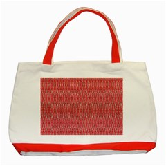 Heads Up Classic Tote Bag (red)