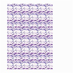 Floral Stripes Pattern Small Garden Flag (Two Sides)