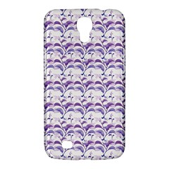 Floral Stripes Pattern Samsung Galaxy Mega 6.3  I9200 Hardshell Case