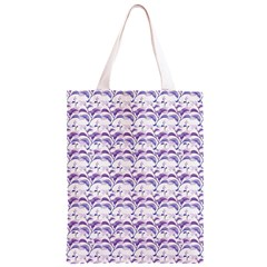 Floral Stripes Pattern Classic Light Tote Bag