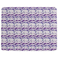 Floral Stripes Pattern Jigsaw Puzzle Photo Stand (Rectangular)
