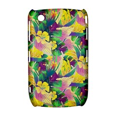 Tropical Flowers And Leaves Background Curve 8520 9300
