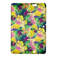 Tropical Flowers And Leaves Background Kindle Fire HDX 8.9  Hardshell Case