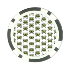 Funny Robot Cartoon Poker Chip Card Guards (10 pack)