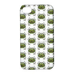 Funny Robot Cartoon Apple iPhone 4/4S Hardshell Case with Stand