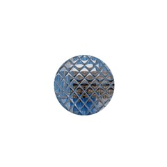 Mirrored Glass Tile Urban Industrial 1  Mini Buttons