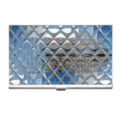 Mirrored Glass Tile Urban Industrial Business Card Holders