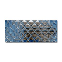 Mirrored Glass Tile Urban Industrial Hand Towel