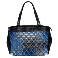 Mirrored Glass Tile Urban Industrial Office Handbags