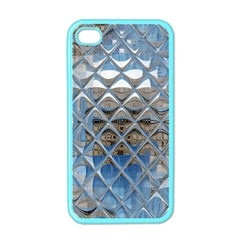 Mirrored Glass Tile Urban Industrial Apple iPhone 4 Case (Color)