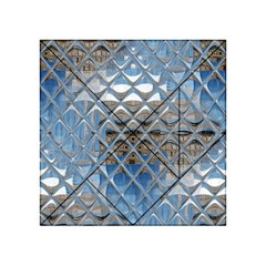 Mirrored Glass Tile Urban Industrial Acrylic Tangram Puzzle (4  x 4 )