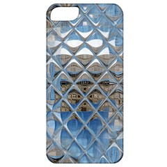 Mirrored Glass Tile Urban Industrial Apple iPhone 5 Classic Hardshell Case