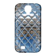 Mirrored Glass Tile Urban Industrial Samsung Galaxy S4 Classic Hardshell Case (pc+silicone)