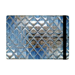 Mirrored Glass Tile Urban Industrial iPad Mini 2 Flip Cases