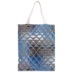 Mirrored Glass Tile Urban Industrial Classic Light Tote Bag
