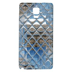 Mirrored Glass Tile Urban Industrial Galaxy Note 4 Back Case